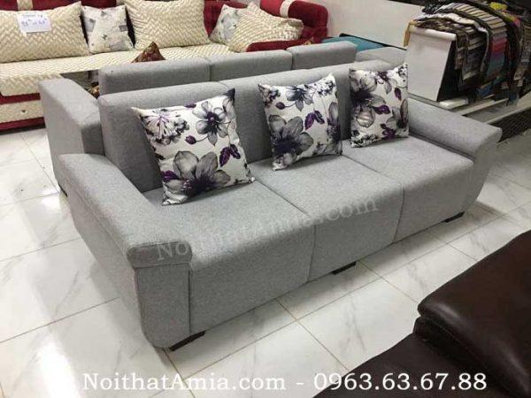 Hình ảnh cho ghế sofa văng da 3 chỗ đẹp hiện đại và sang trọng cho không gian đẹp