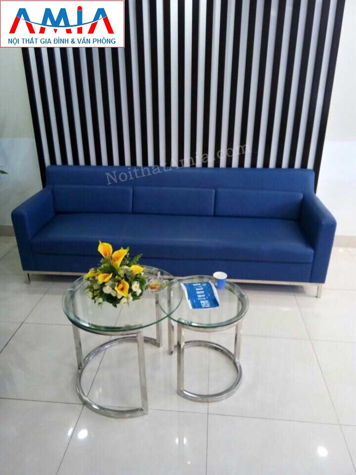 Hình ảnh cho mẫu ghế sofa văng da 3 chỗ ngồi đẹp hiện đại cho phòng khách đẹp