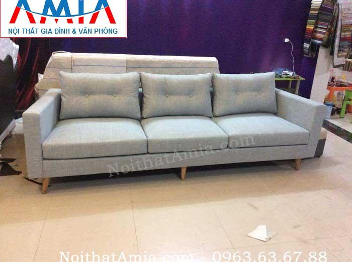 Hình ảnh cho mẫu ghế sofa văng đẹp 3 chỗ AmiA SF114 hiện đại và trẻ trung