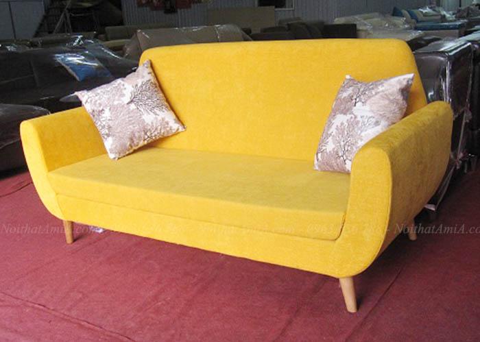 Hình ảnh Mẫu ghế sofa văng đẹp hà Nội thiết kế hiện đại