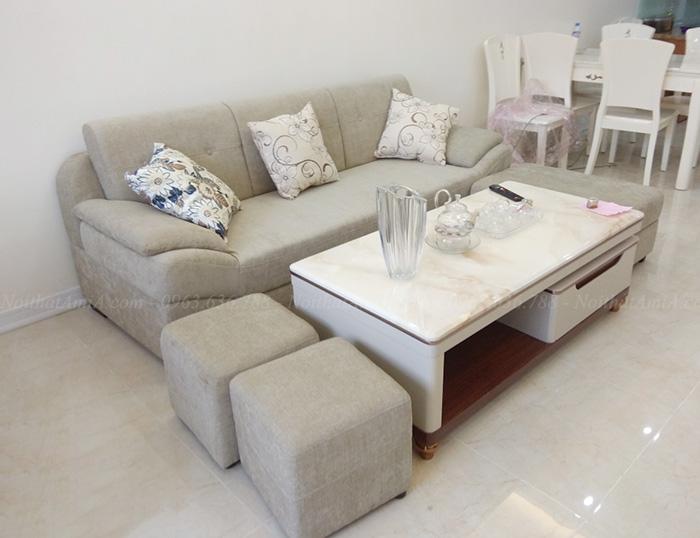 Hình ảnh Ghế sofa văng đẹp cho căn hộ chung cư