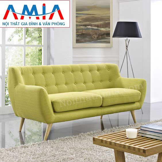 Hình ảnh cho mẫu ghế sofa văng đẹp nhỏ xinh cho không gian căn phòng khách nhỏ