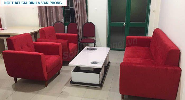 Hình ảnh cho bộ ghế sofa văng đẹp được đặt làm theo yêu cầu tại Nội thất AmiA