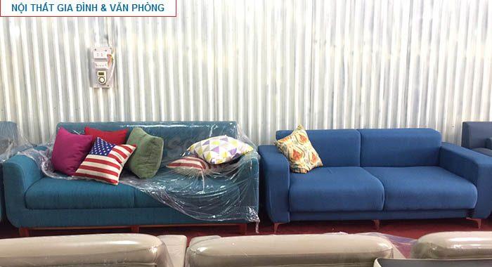 Hình ảnh các mẫu ghế sofa văng đẹp đang được bán và trưng bày tại Nội thất AmiA