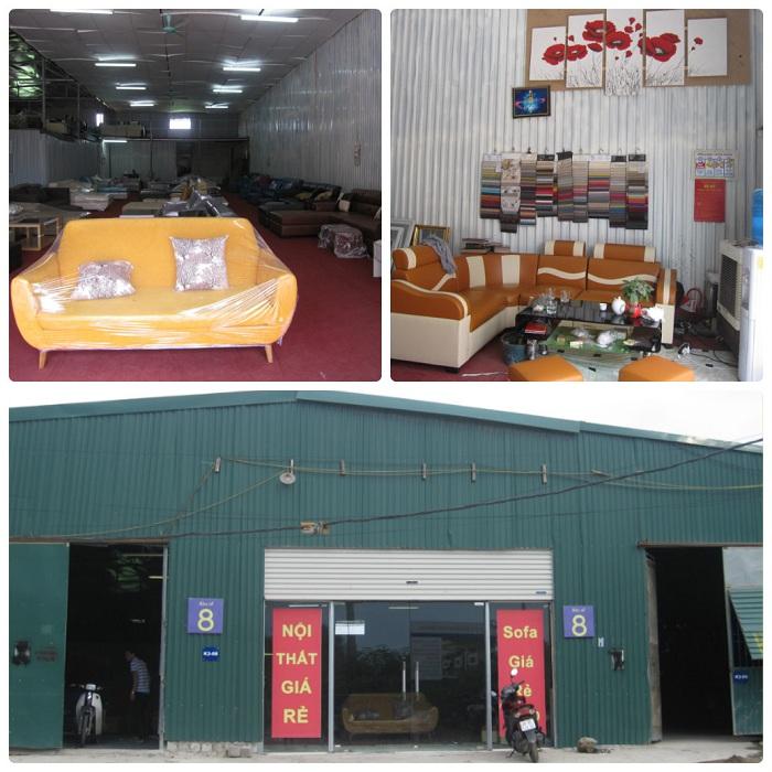 Hình ảnh xưởng kho sofa AmiA số 8 ngõ 300 Nguyễn Xiển