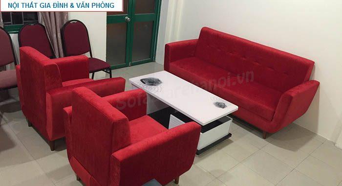 Hình ảnh cho bộ ghế sofa nỉ văng được đặt làm theo yêu cầu tại Nội thất AmiA