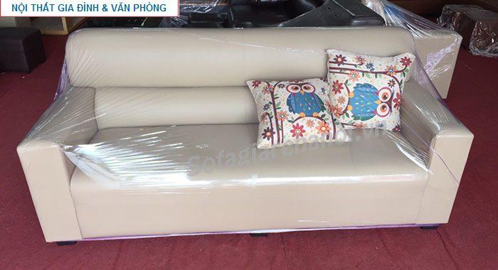 Hình ảnh cho mẫu ghế sofa da văng đẹp nhỏ xinh cho không gian căn phòng đẹp