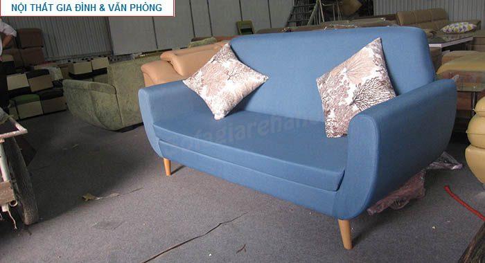 Hình ảnh cho mẫu sofa văng đẹp màu xanh ấn tượng cho không gian căn phòng khách đẹp gia đình