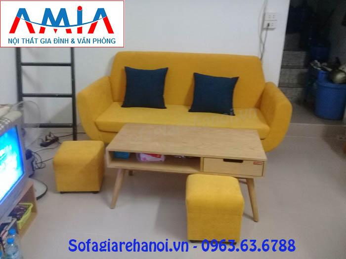 Hình ảnh cho mẫu ghế sofa văng được đặt làm theo yêu cầu tại Nội thất AmiA
