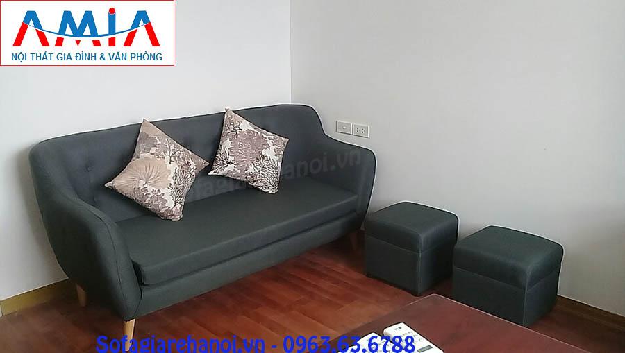 Hình ảnh cho ghế sofa văng đẹp được đặt làm tại xưởng kho Nội thất AmiA