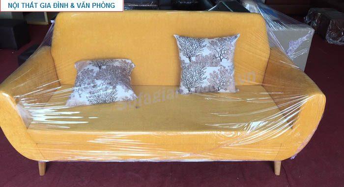 Hình ảnh cho mẫu sofa văng nỉ đẹp đang được bán và trưng bày tại Nội thất AmiA