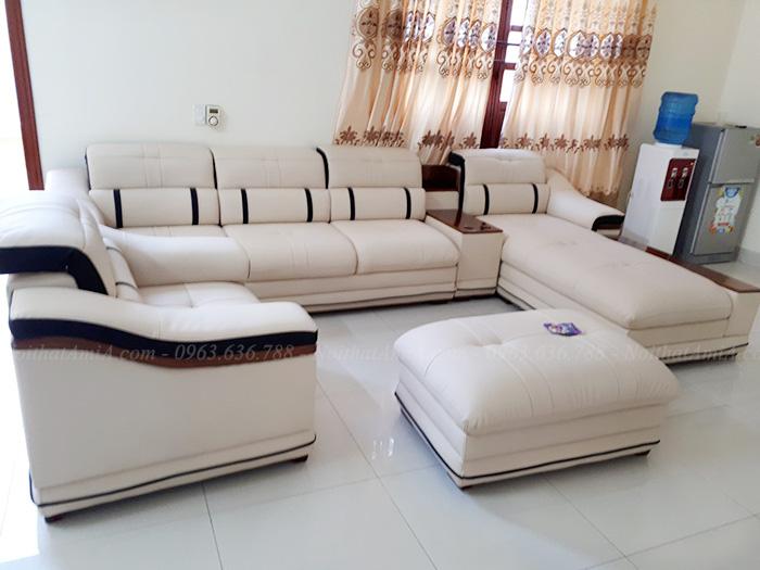 Hình ảnh Bộ ghế sofa đẹp sang trọng trong phòng khách gia đình