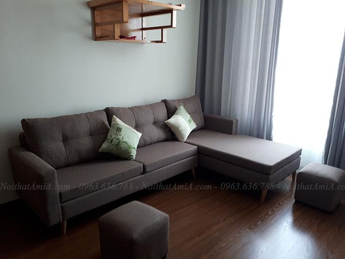 Hình ảnh ghế sofa đẹp hiện đại cho phòng khách nhà chung cư