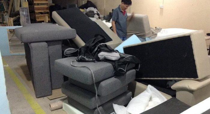 Hình ảnh nội thất AmiA là một địa chỉ đặt làm sofa nỉ góc chữ L theo yêu cầu tại Hà Nội