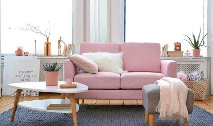 Hình ảnh cho sofa nhỏ xinh đẹp mê ly trong không gian phòng khách đẹp