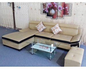 Hình ảnh đại diện cho mẫu sản phẩm sofa da đẹp hiện đại tại Nội thất AmiA