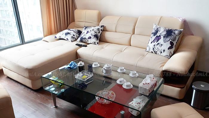 Hình ảnh Ghế sofa da đẹp cho căn phòng khách đẹp gia đình