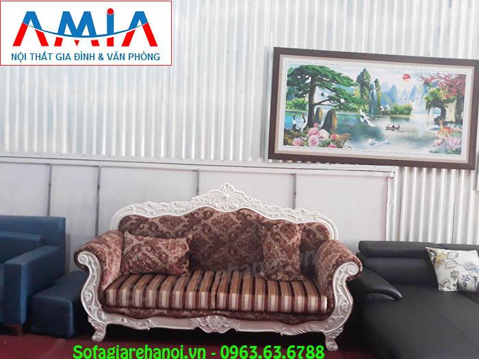 Hình ảnh bộ ghế sofa văng cao cấp đẹp hiện đại và sang trọng