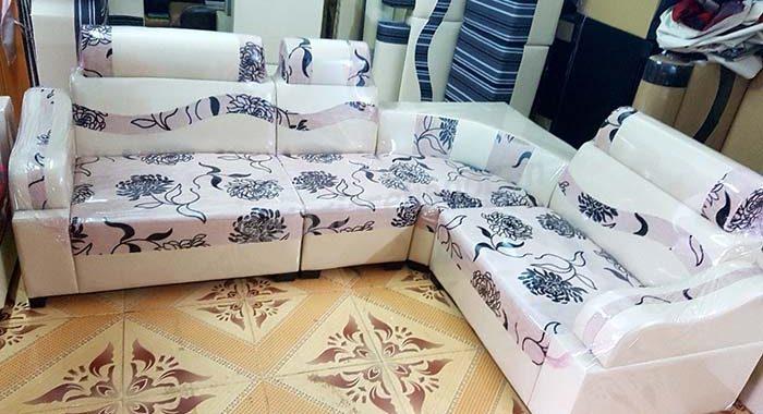 Hình ảnh ghế sofa da pha nỉ đẹp hiện đại, sang trọng và trẻ trung