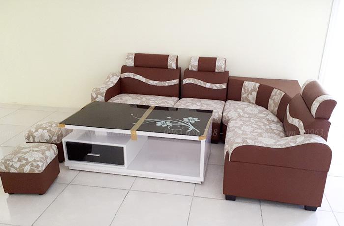 Hình ảnh Sofa đẹp giá rẻ kết hợp bàn trà đẹp