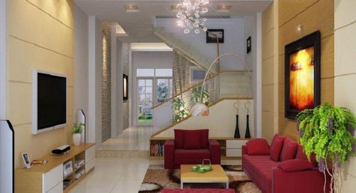 Hình ảnh mẫu bàn ghế phòng khách cho nhà ống đẹp hiện đại và sang trọng