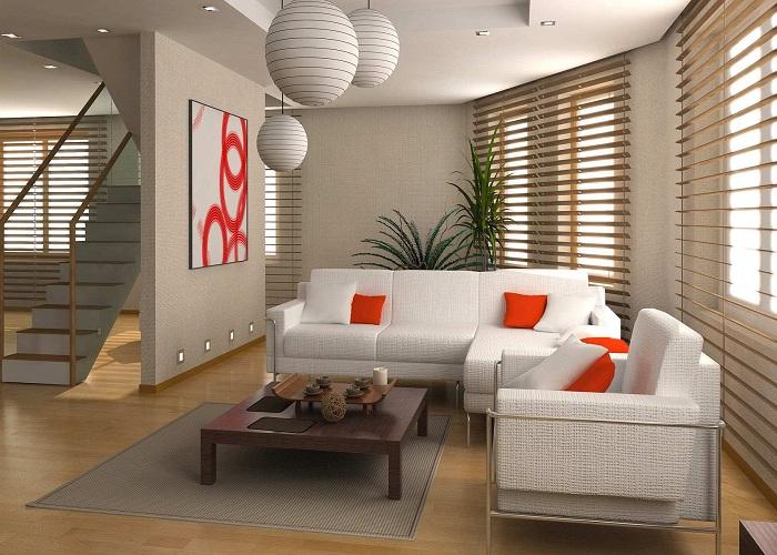 Hình ảnh mẫu bàn ghế phòng khách nhỏ khi được bài trí trong phòng khách gia đình