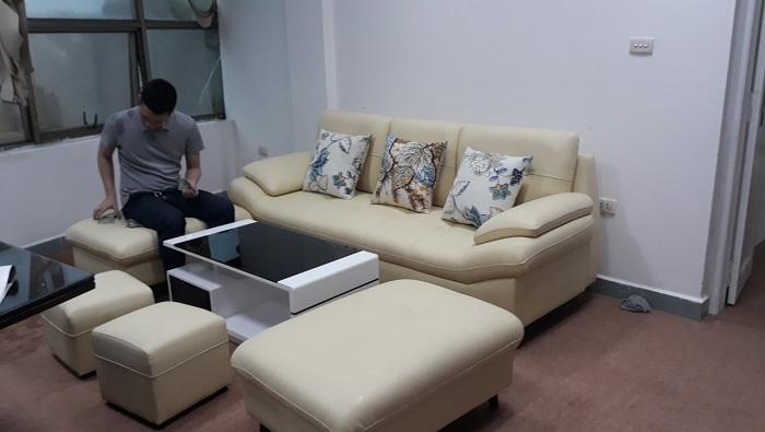 Hình ảnh mẫu ghế sofa văng đẹp AmiA SFD099 đang rất được yêu thích