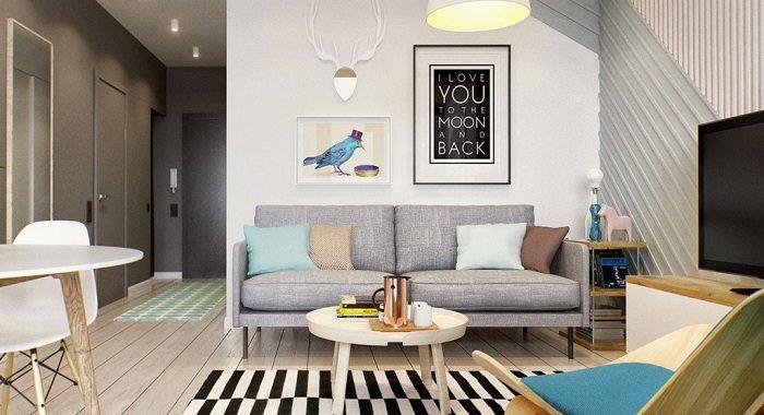 Hình ảnh mẫu ghế sofa văng đẹp cho căn phòng khách nhỏ gia đình