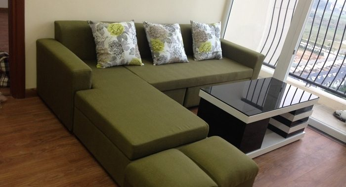 Hình ảnh bàn ghế phòng khách nhỏ cho căn hộ nhà chung cư