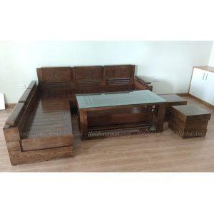 Hình ảnh đại diện mẫu bàn ghế sofa gỗ phòng khách đẹp