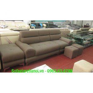 Hình ảnh bộ ghế sofa văng da đẹp hiện đại cho phòng khách đẹp gia đình