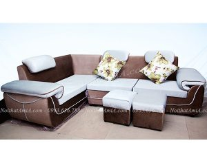 Hình ảnh đại diện mẫu sofa góc nỉ đẹp hiện đại và sang trọng