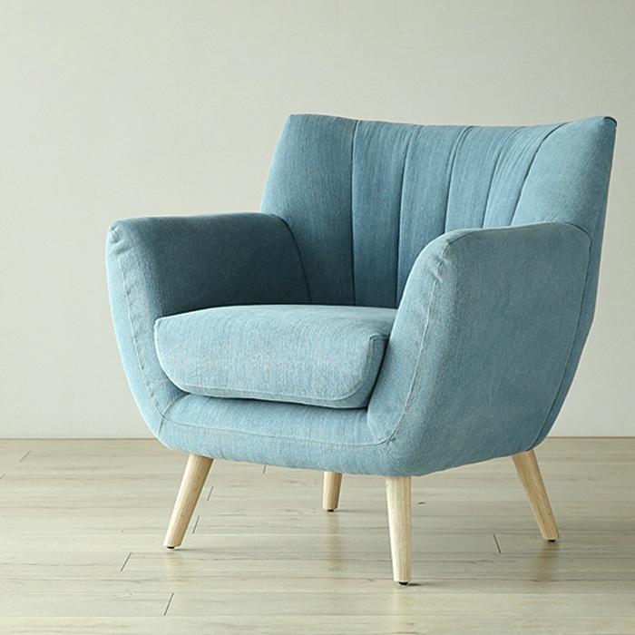 Hình ảnh mẫu ghế sofa đơn đẹp hiện đại với thiết kế thật đơn giản