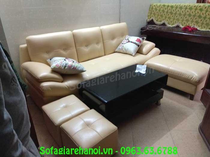 Hình ảnh mẫu ghế sofa văng đẹp khi được bài trí trong phòng khách gia đình