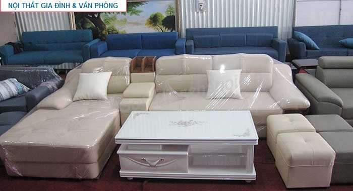 Hình ảnh mẫu bàn trà gỗ kính đẹp với gam màu trắng hiện đại, sang trọng và tinh tế