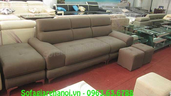 Hình ảnh mẫu ghế sofa văng đẹp với thiết kế hiện đại phù hợp với không gian đẹp hiện đại phòng khách gia đình