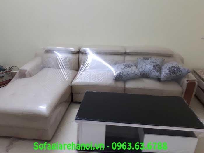 Hình ảnh bộ bàn ghế sofa phòng khách đẹp với thiết kế hiện đại, sang trọng