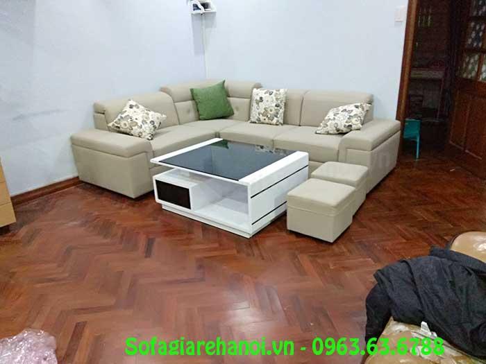 Hình ảnh mẫu ghế sofa da góc siêu đẹp siêu hiện đại cho sự lựa chọn của bạn