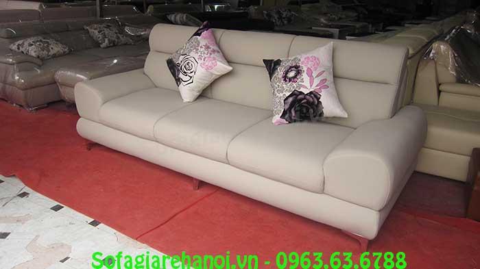Hình ảnh mhế sofa văng đẹp hiện đại với thiết kế 3 chỗ ngồi rõ ràng
