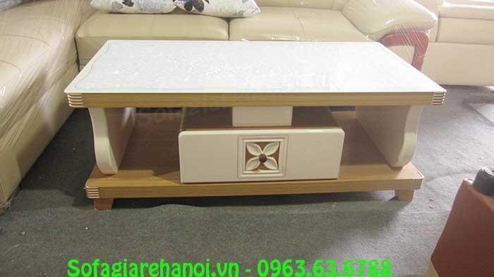 Hình ảnh mẫu bàn trà gỗ kính cường lực AmiA BTR160 là sự lựa chọn hoàn hảo dành cho bạn