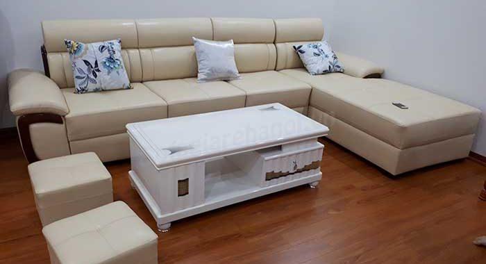 Hình ảnh bàn ghế sofa phòng khách đẹp với phong cách thiết kế hiện đại và sang trọng