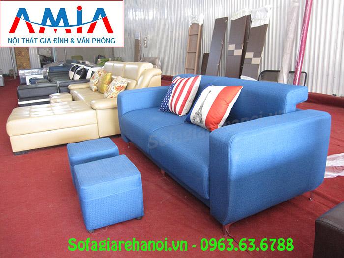 Hình ảnh bộ ghế sofa nhỏ gọn đẹp hiện đại với thiết kế dạng ghế văng