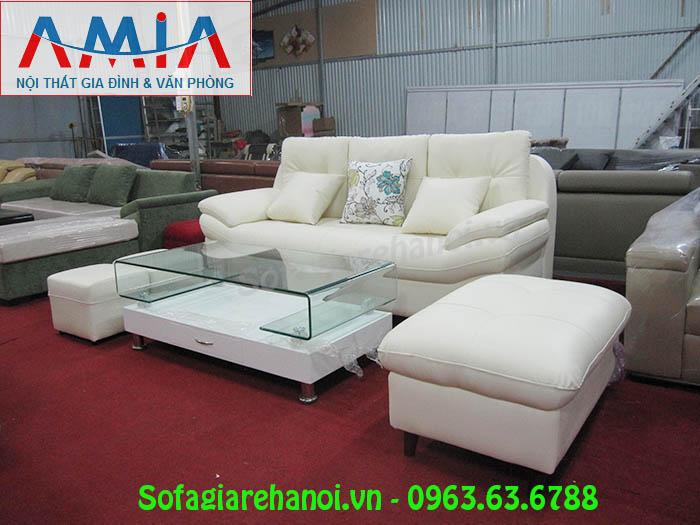 Hình ảnh mẫu ghế sofa nhỏ xinh đẹp với gam màu