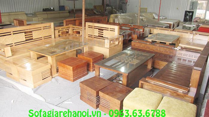 Hình ảnh các mẫu bàn ghế gỗ chung cư tại Nội thất AmiA