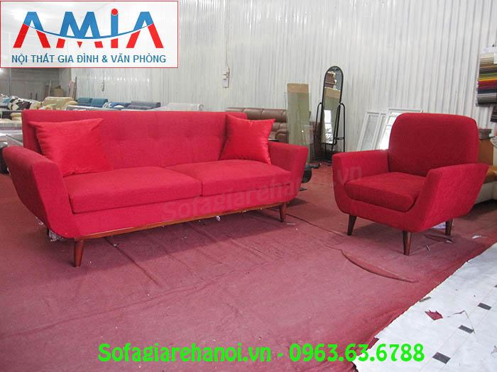 Hình ảnh bộ ghế sofa văng nỉ đẹp hiện đại