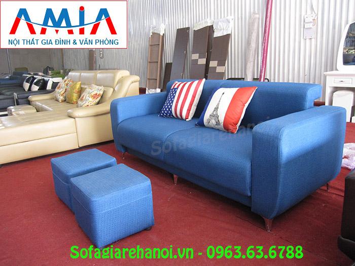 Hình ảnh ghế sofa nhỏ gọn đẹp tại Tổng kho Nội thất AmiA Hà Nội