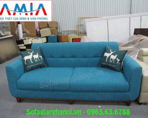Hình ảnh bộ ghế sofa mini đẹp hiện đại với thiết kế dạng ghế sofa văng nỉ