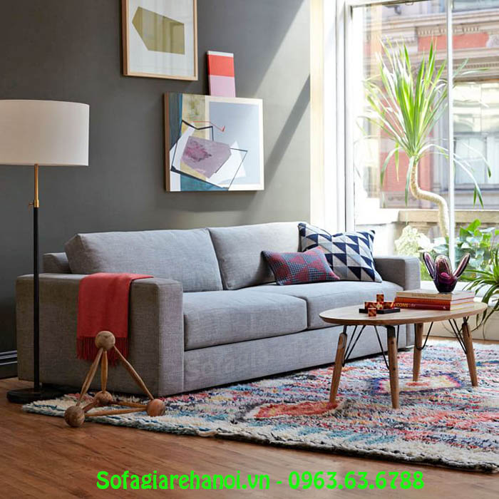 Hình ảnh sofa nhỏ thiết kế dạng văng 2 chỗ đẹp mê ly
