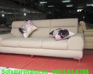 Hình ảnh bộ ghế sofa nhỏ gọn đẹp hiện đại với thiết kế mới mẻ phù hợp với nhu cầu khách hàng