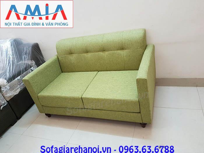 Hình ảnh sofa mini đep hiện đại với gam màu xanh độc đáo